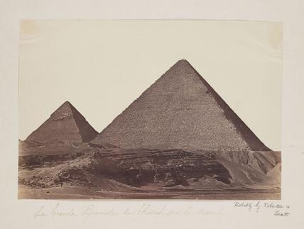 'La Grande Pyramide de Ghizeh', 1857.