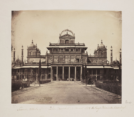 The Kaiserbagh, Lucknow, India, 1858.