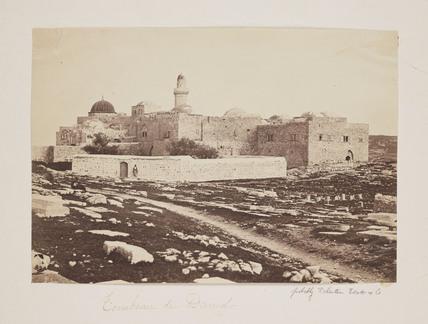 'Tombeau de David', 1857.