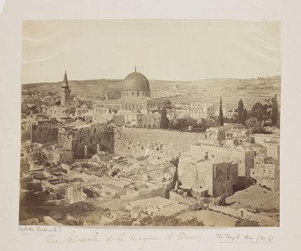 'Vue General de la Mosquee d'Omar', 1857.