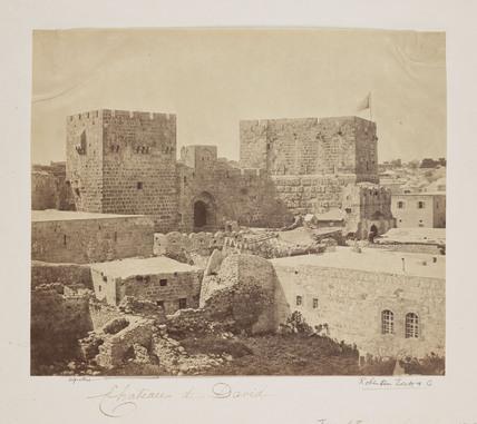 'Chateau de David', 1857.