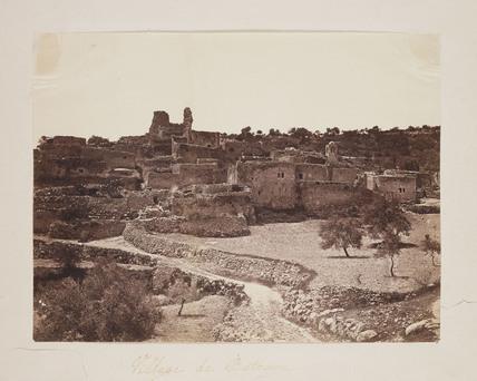 'Village de Bethanie', 1857.