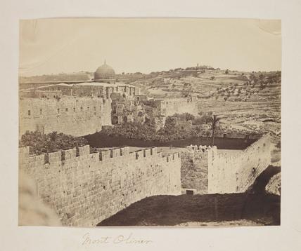 'Mont Olivier', 1857.