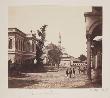 'Rue de Tophanna', c 1855.