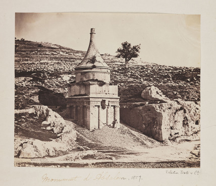 'Monument d'Absalom', 1857.