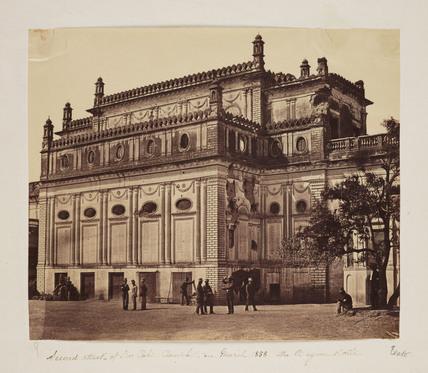 'The Begum Kotie', 1858.