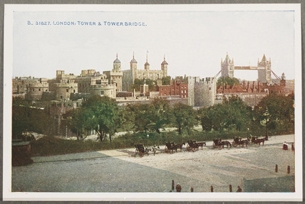 'London: Tower And Tower Bridge', c 1914.