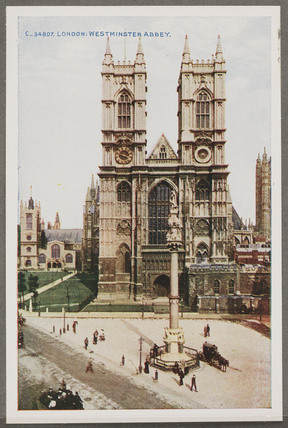'London: Westminster Abbey', c 1914