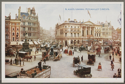 'London: Piccadilly Circus', c 1914.