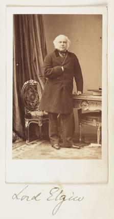 Lord Elgin, c 1860.