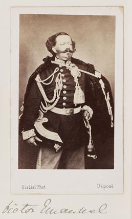 Victor Emmanuel, c 1865.