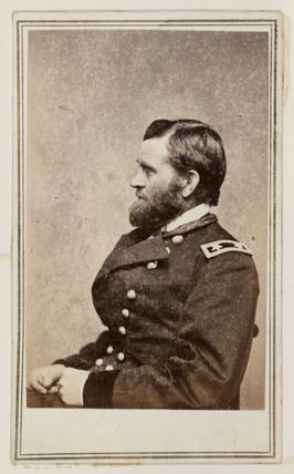 General Grant, c 1863.
