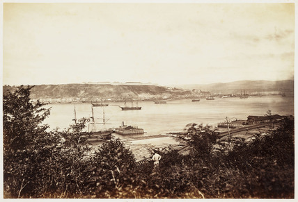 'Quebec from Pont Love', 1860.