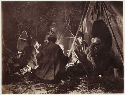 'Campfire', 1860.