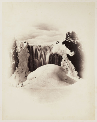 'Montmorency Falls Winter', 1860.