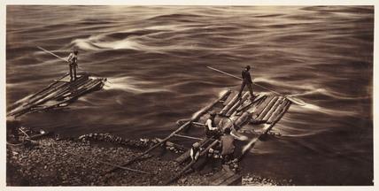 'Sault Recollet Ottawa River', 1860.