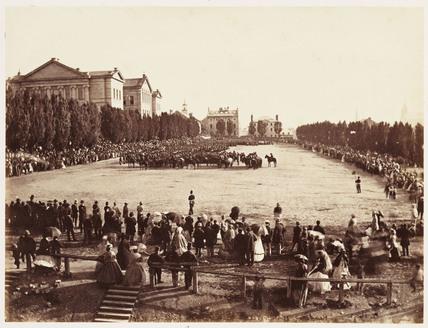 'Champs de Mars', 1860.