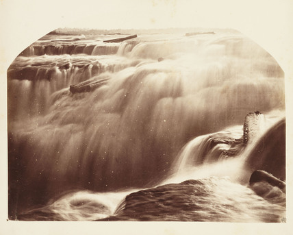 'Chaudiere Falls in Winter', 1860.