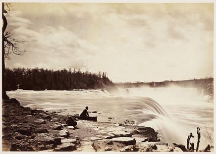 'General view Niagara Falls', 1860.