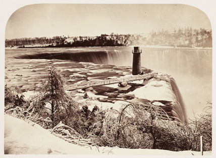 'Terrapin Tower, Horse Shoe Falls', 1860.