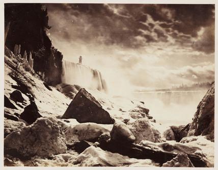 'Horse Shoe Falls', 1860