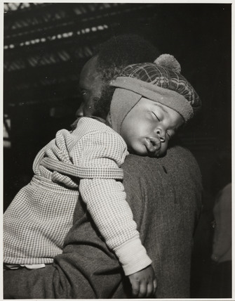 Young West Indian immigrant, Victoria Station, 24 June 1962.