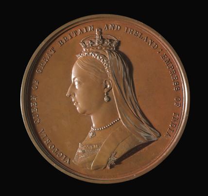 Queen Victoria, International Medical Congress medal, London, 1881.