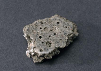 Volcanic stone.