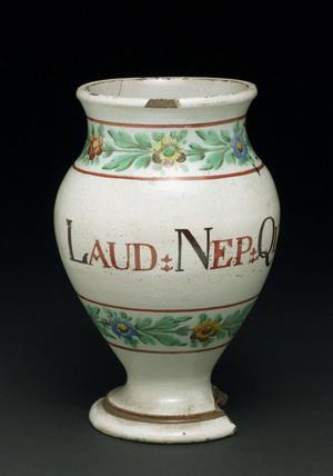 Pharmacy Vase, Italian, 1780-1850.