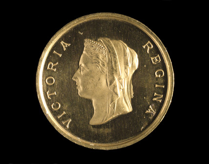 Queen Victoria, medal awarded to Ludwig and Henry oertling, 1885.