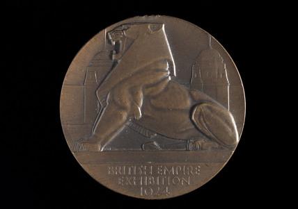British Empire Exhibition medal, 1924.
