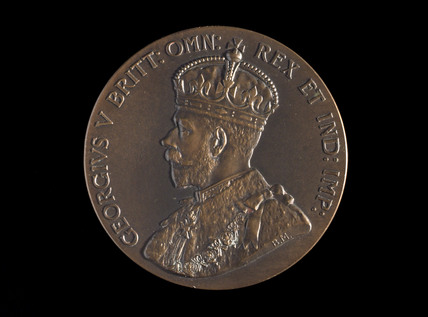 British Empire Exhibition medal, 1924.