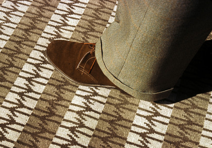 British Rail brown carpet, 1964.