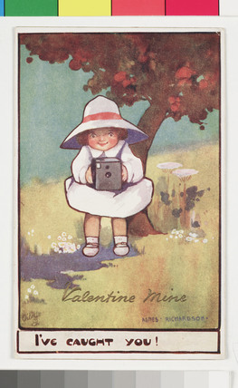 'Valentine Mine', Kodak advertisement, c 1903.