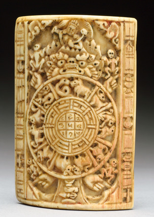 Buddhist horoscope, Tibetan, 18th or 19th century.