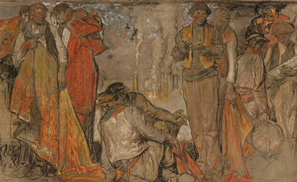 'Rug Porters', 1914.