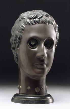 Bakelite face phantom, Austrian, early 20th century.