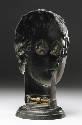 Bakelite face phantom, Austrian, early 20th century.