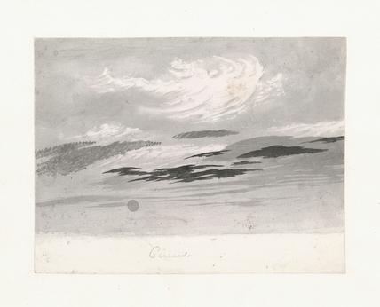 Light cirro-cumulus beneath cirrus, 1803-1811.