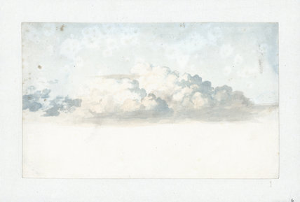 Aggregate cumulus in different stages, 1803-1811.