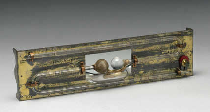 Wet bulb thermometer by Thomas Jones, 1816-1850.