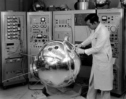 Explorer XVII Satellite, 1 January 1963.