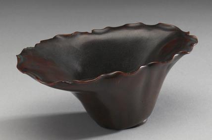 Rhinoceros horn cup, China, 17th century.