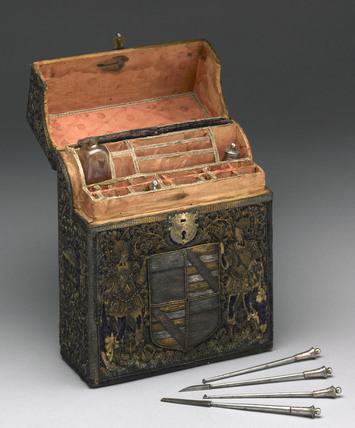 Dental instrument set, 17th century.