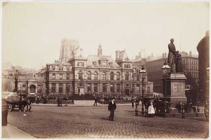 Forster Square, Bradford, c 1895.