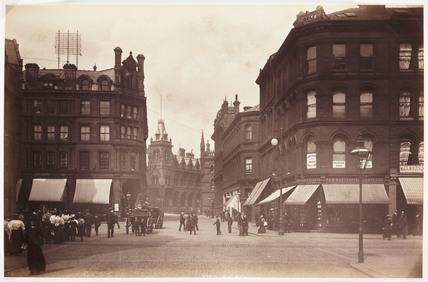 Tyrrel Street, Bradford, c 1895.