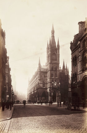The Wool Exchange, Bradford, c 1895.