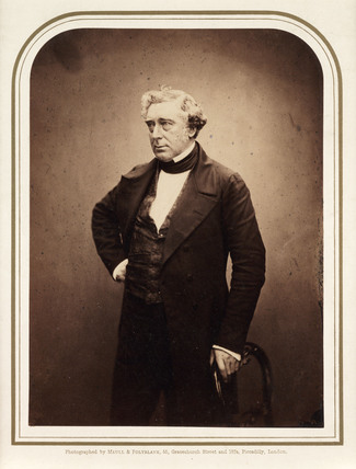 Robert Stephenson, British engineer, 1856.