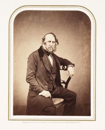 George Cruikshank, British artist, 1857.