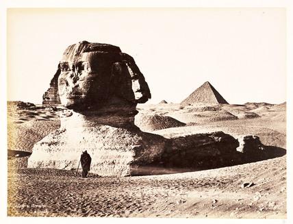 The Sphinx, c 1880.